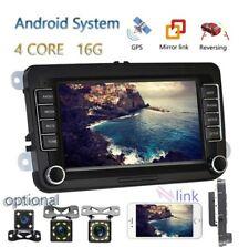 "7"" Android Autoradio stereo 2din gps navi bluetooth vw golf 5/6 seat skoda"