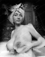 8x10 Print Sexy Model Pin Up Busty 1960's Bath Nudes #M6050