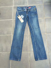 Roxy Womens Denim Straight Leg Jeans L32, W25 - Brand New with Tags