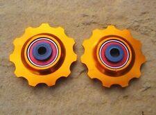 Componentes y piezas naranja para bicicletas universales