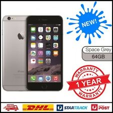 New Apple iPhone 6 64GB Space Grey 4G GSM WIFI 100% Factory Unlocked 12 MTH WTY