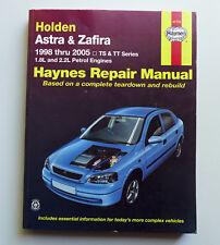 Holden ASTRA ZAFIRA MPV TS TT 1998-05 Hatch Wagon Workshop Service Repair Manual