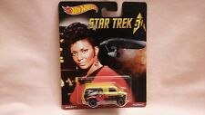 HOTWHEELS  STAR TREK 50TH SPECIAL REAL RIDERS VAN,A YELLOW VAN,FORD TRANSIT.