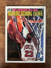1993-94 Topps Gold #384 Michael Jordan Scoring Leader! Bulls! HOF! Last Dance!
