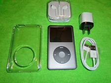 Apple iPod classic 7th Gen Grey (160 GB) + Extras! Very Excellent Condition
