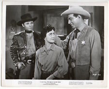 AUDIE MURPHY Faith Domergue STEPHEN McNALLY Vintage Photo 1959 western CREASED