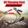 12V DC  Battery Generator Charging Cord Connecting Metal Clip Cable Lead