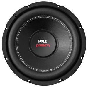Pyle 6-Inch 600 Watt Dual 4 Ohm Car Audio Stereo Speaker Subwoofer
