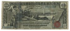 1896 - $1 Educational Silver Certificate - Large Size Note