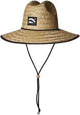 Brooklyn Surf Men's Straw Sun Lifeguard Beach Hat Raffia Wide Brim, One Size