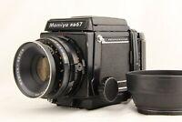 【NEAR MINT】 MAMIYA RB67 Pro + SEKOR 127mm f/3.8 + 120FilmBack w/ Hood from JAPAN