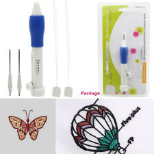 1.3/1.6/2.2mm Embroider Punch Needle Embroidery Pen Kit Magic Stitch work Tool