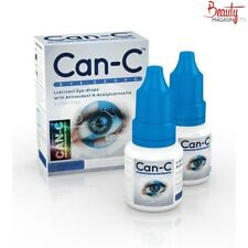 Can-C Eye Drops N-acetylcarnosine for Pets & Humans 2 Vials