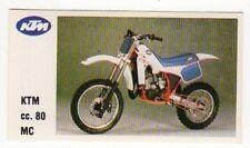 figurina MOTOR SHOW BAGGIOLI 1986 NEW numero 47 KTM MC