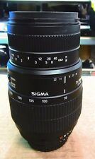 Sigma 70-300mm  D Lens for Nikon from Japan 1:4-5.6 Macro