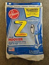 Hoover Z Type Vacuum Bags Allergen Filtration Bags - 3 Pack - 4010100Z