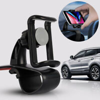 1pc Universal Cell Phone GPS Car Dashboard Mount Holder Stand HUD Clip On Cradle