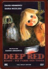 Deep Red , Profondo Rosso , 3D-Holocover Steelbook , 100% uncut , NEW