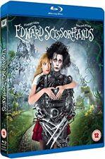 Edward Scissorhands - 25th Anniversary Edition [Blu-ray] [1990] [DVD][Region 2]