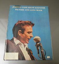 1966 JOHNNY CASH SHOW Souvenir Picture & Song Book VG Southwind 32p June Carter