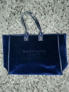 Guess Marciano Suede Blue Tote