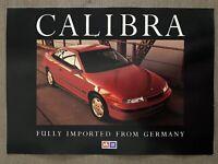 1991 Holden Calibra original Australian sales brochure (9/91)
