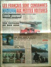 "L'AUTO-JOURNAL n°284 du 11/1961 Opel Kapitan ""Hydramatic""/ Salon de Londres"