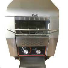 More details for commercial conveyor toaster 150 slices per hour hotel restaurant toast machine