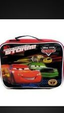Disney Pixar Cars Lunch Box  with Carrying Shoulder Strap ..plus gift *