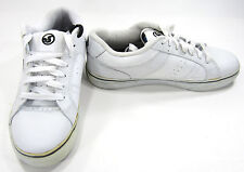 DVS Shoes Crenshaw Lo Leather White Sneakers Size 7.5
