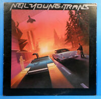 NEIL YOUNG TRANS VINYL LP 1982 ORIGINAL PRESS GREAT CONDITION! VG++/VG+!!B
