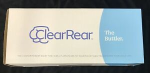 Clear Rear Bidet The Buttler Toilet NIB  Free S/H