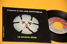 """LE NUOVE ERBE 7"""" 45 LE FOGLIE MORTE 1°ST ORIG ITALY PROG 1978 EX++ SEX COVER"""