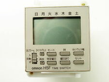 Omron H5f-A Time Switch 100-240vac Japanese Style nnb