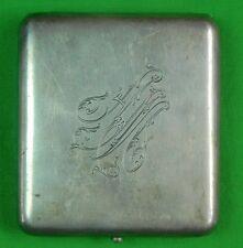 RARE Antique Imperial Russian Russia Sterling Silver 84 GRACHEV Cigarette Case