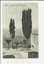 fiesole vecchia cartolina panorama di firenze da san francesco