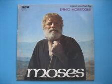 "ENNIO MORRICONE ""Moses"" RARO LP ORIG - ITALY - near MINT - OST OSTX"