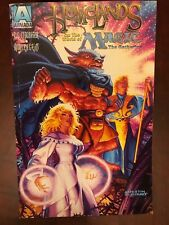 Homelands Magic: The Gathering #1 comic by Armada comics - MTG - Hildebrandt