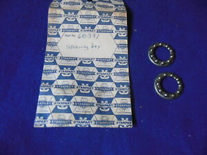 NOS Stanpart Steering Box Cage Bearings (2) Triumph TR2 TR3 60371