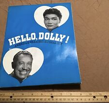 HELLO DOLLY Souvenir Program PEARL BAILEY  1970