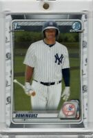 2020 Bowman Chrome Prospects #BCP-8 Jasson Dominguez 1st Bowman RC Yankees GEM