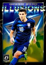 2018-19 Donruss Soccer Christian Pulisic ILLUSIONS #I-10 USA USMNT