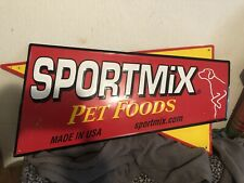 Sportmix Dog Food Sign