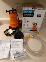 Everbilt 1/4 HP 2-in-1 Utility Pump (See Description)