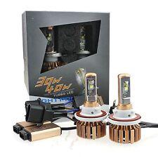 V16 Gold Edition Cree LED Headlight Kit 80W & 7600Lm/Set, H13/9008 Hi/Lo - 6000K