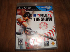 MLB The Show 12 PS3 Video Game Playstation 3 2012