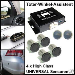 Toter-Winkel-Assistent  mit 4 x Universal-High-Class-Sensoren