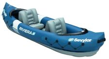 Sevylor Riviera 2 Person Kayak Inflatable Canoe Dinghy Boat Raft Sailing