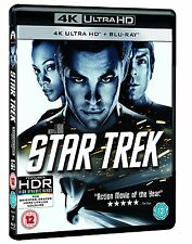 Star Trek  (4K UHD Blu-ray + Blu-ray ): New UHD Blu-Ray - Chris Pine