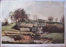 Art Postcard Gustave COURBET Quelle im Steinbruch von Optivoz 4x6 Natur Brunnen